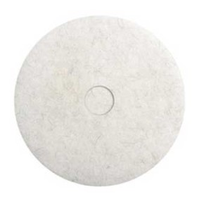 18 Inch White Polishing Pad