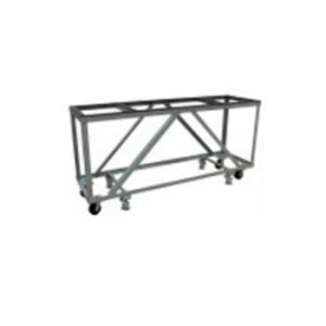 GROVES FABRICATION TABLE MOBILE, CASTERS
