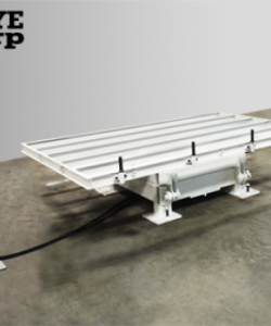 HYDRAULIC, ROTATING TILTING TABLE FOR BRIDGE SAWS