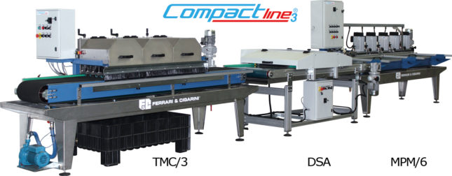AUTOMATIC CUTTING AND EDGE-PROFILING