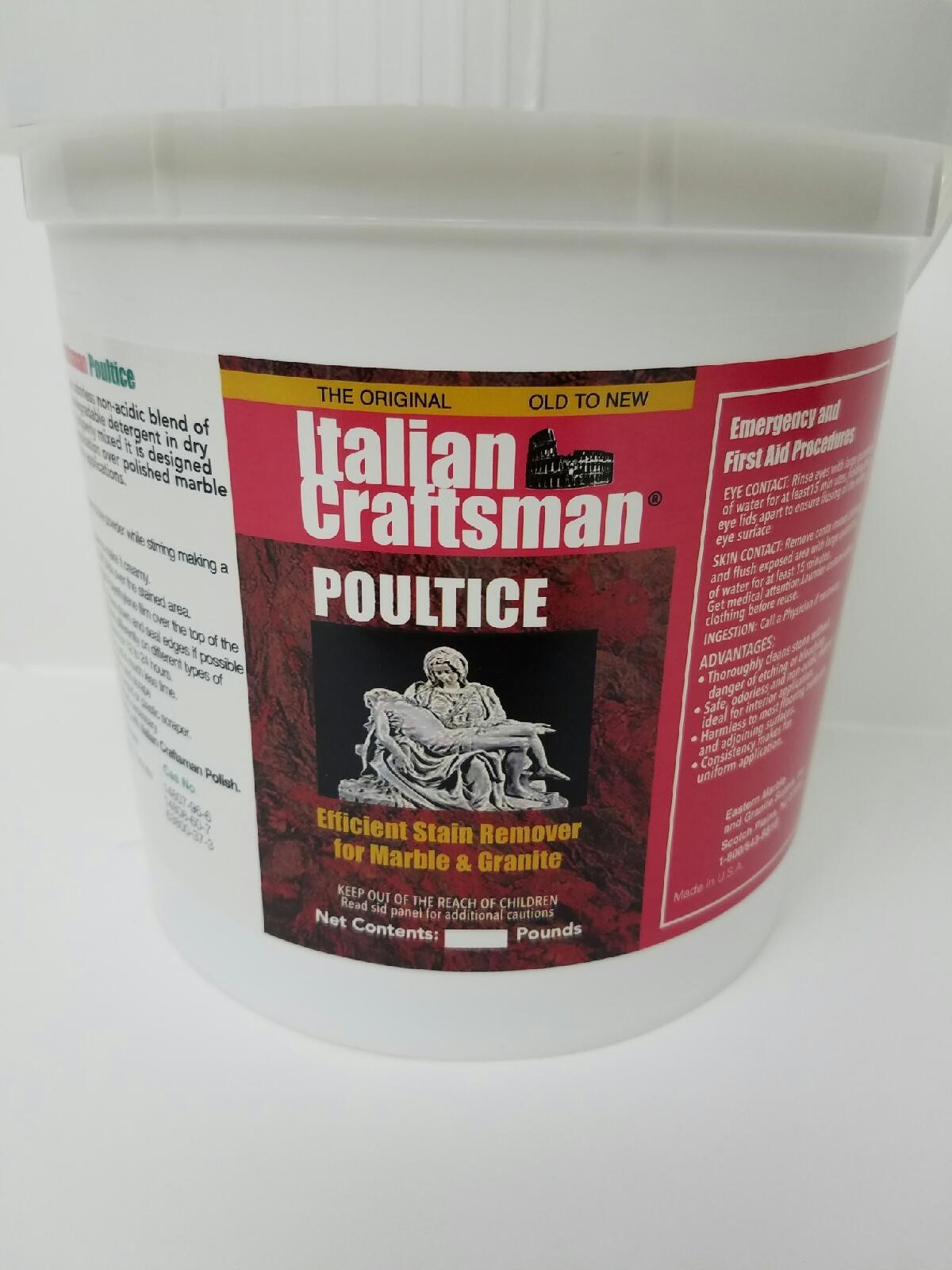 ITALIAN CRAFTSMAN® MARBLE POULTICE
