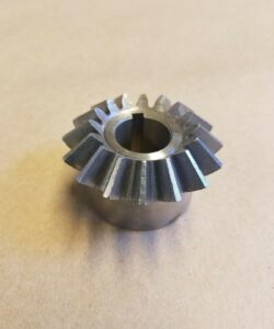 Angled Pinion Gear With Key Way