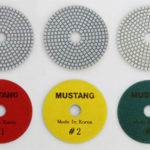 MUSTANG 3 STEP POLISHING PADS