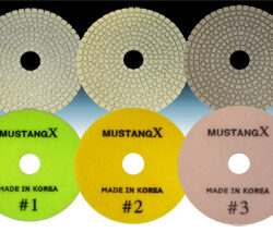 MUSTANG X 3 STEP POLISHING PADS