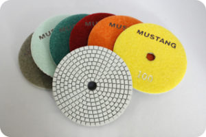 MUSTANG H SERIES POLISHING PADS