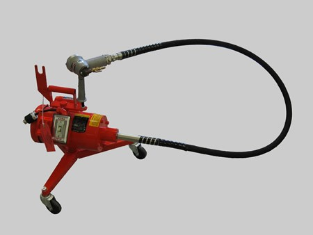 FLEXIBLE SHAFT POLISHING MACHINE