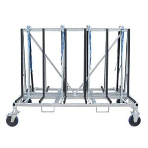 Weha Small A-frame Cart Double Sided Transport Cart