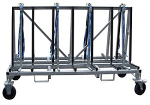 Weha Shorty A frame Cart Double Sided Transport