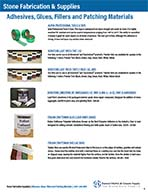 Adhesives, Glues, Fillers and Patching Materials-I-5-10
