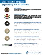 Edge Polishing Pads For Fabrication-I-33-36