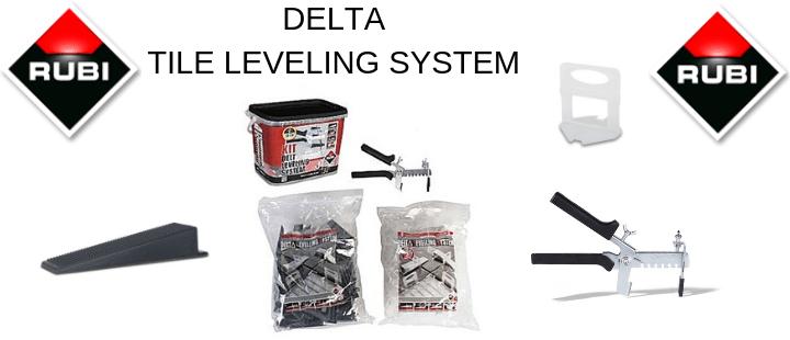 DELTA TILE LEVELING SYSTEM Tile Installation Tools