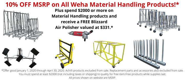 Weha Material Handling Sale