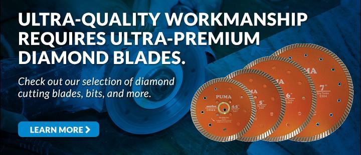 Ultra-Premium Diamond Blades
