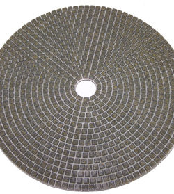 Italian Craftsman Conquer Dry Polishing Pad For Concrete 7""
