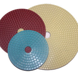 """Italian Craftsman Conquer Wet Polishing Pad For Concrete 7"""""""