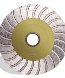 "PEARL ABRASIVES 4"" DIAMOND CUP WHEEL 5/8""-11 FEMALE THREADED CENTER HOLE FINE GRIT"