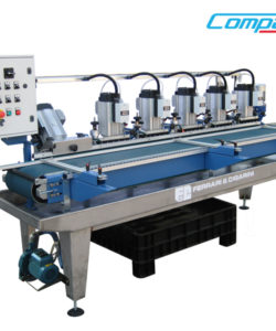 MPM 6-MULTIPLE AUTOMATIC PROFILING MACHINE WITH 6 HEADS